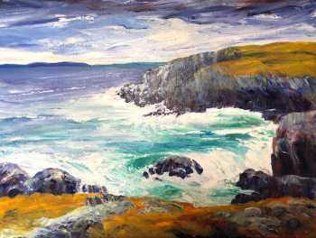 Conception Bay, original oil painting by Brenda McClellan