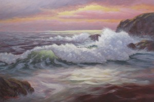Evening Tides -painting by Doug Downey